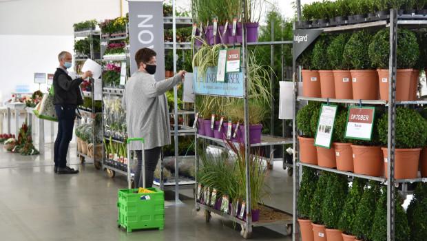 Pflanzen waren ein wichtiger Sortimentsbereich der Agravis-Vorordertage.