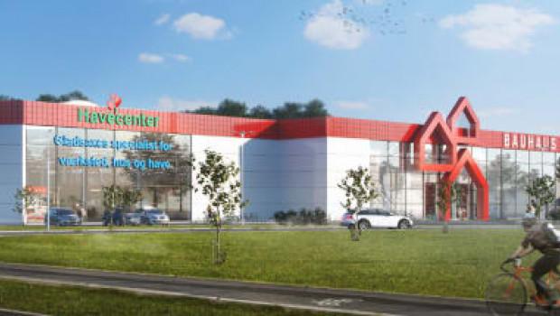 Im Herbst soll der neue Bauhaus-Markt in Gladsaxe eröffnet werden.