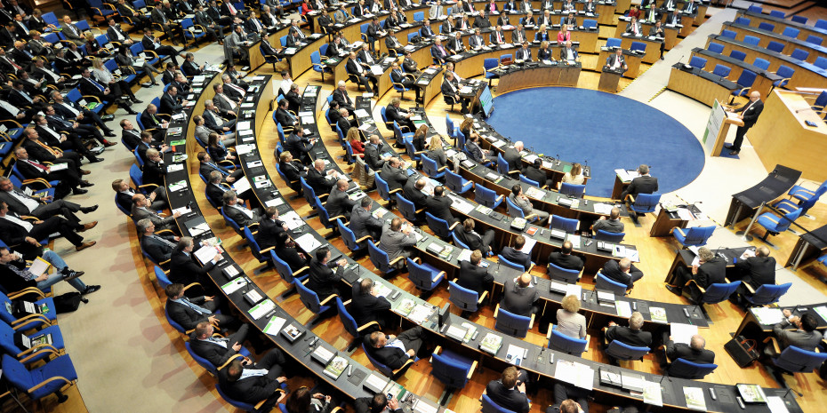 Sitzungssaal Deutscher Bundestag