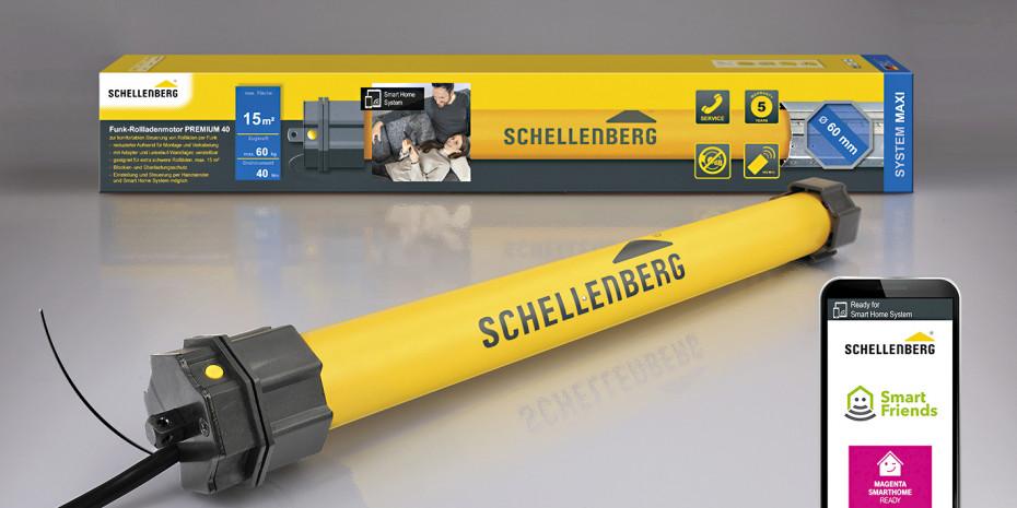 Schellenberg, Funk-Rollladenmotoren