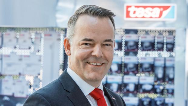 Den Geschäftsbereich Consumer & Craftsmen von Tesa leitet jetzt Frank Riebau.