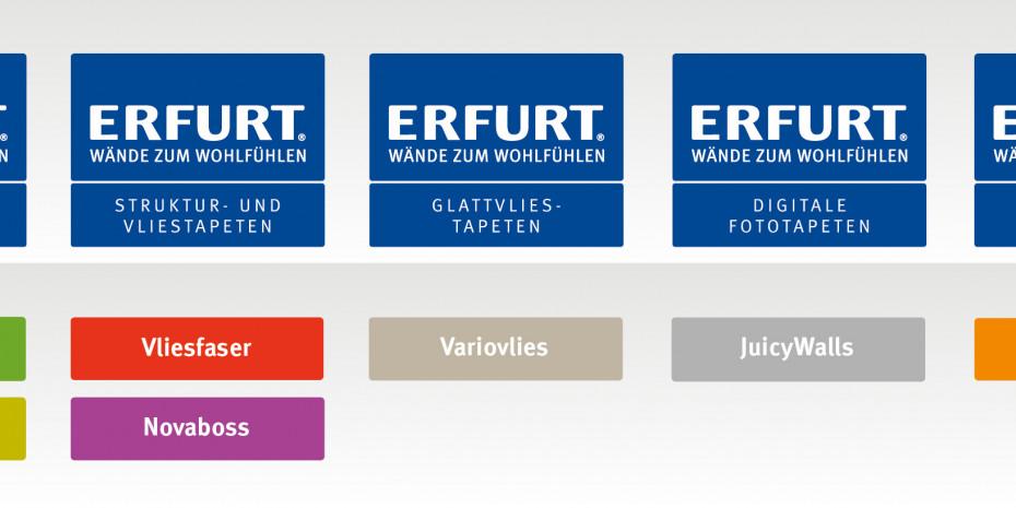 Erfurt, Produktprogramm