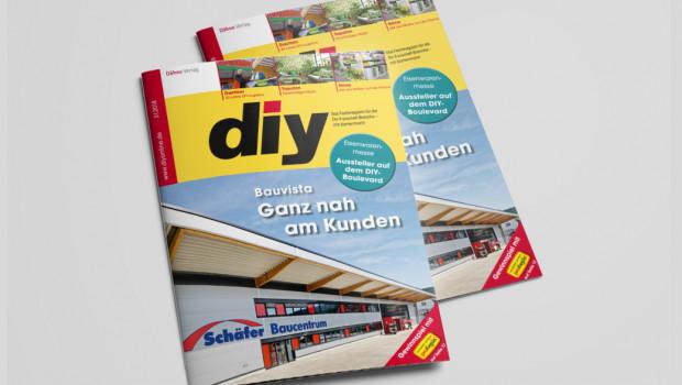 Das März-Heft des Fachmagazins diy - die Messeausgabe zur Internationalen Eisenwarenmesse in Köln - ist jetzt erschienen
