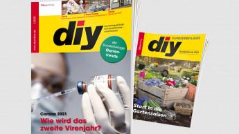 diy 2 mit großer Sonderbeilage Gartentrends 2021