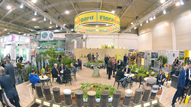 Floragard Messestand