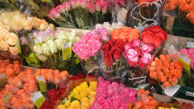 Blumen sind nach wir vor das Geschenk Nummer 1 zum Valentinstag.