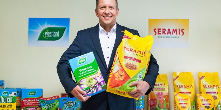 Westland/Seramis, Seramis-Geschäftsführer Werner Hansen