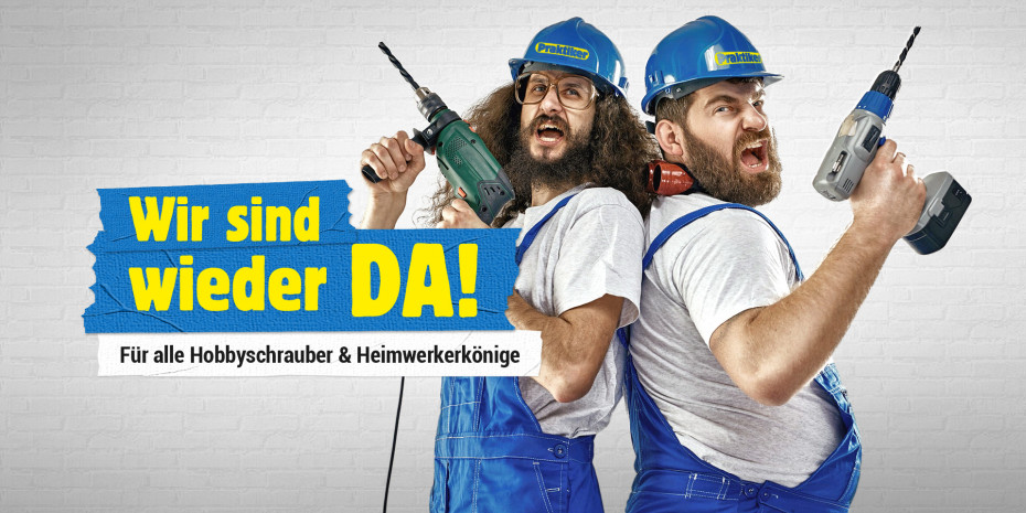 "Praktiker online, Foto: © Praktiker.de/""Wir sind wieder da!""/konradbak-Fotolia.com"