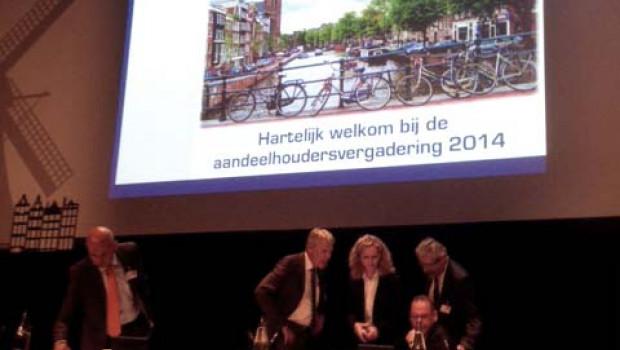 Über 85 Prozent de Eurobaustoff-Gesellschafter sin in Amsterdam dabei.