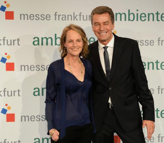 Helen Hunt und Detlef Braun