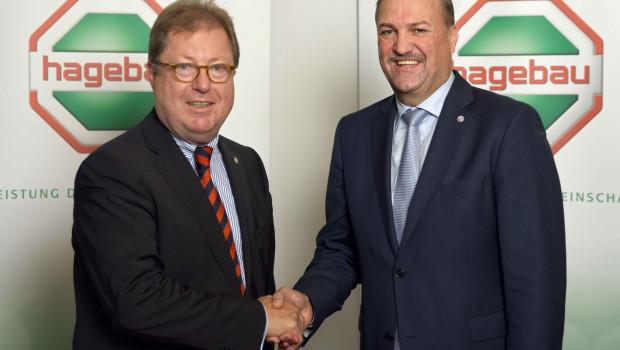 Hartmut Richter (l.) geht – Johannes Schuller kommt: Die Hagebau hat einen neuen Aufsichtsratsvorsitzenden.