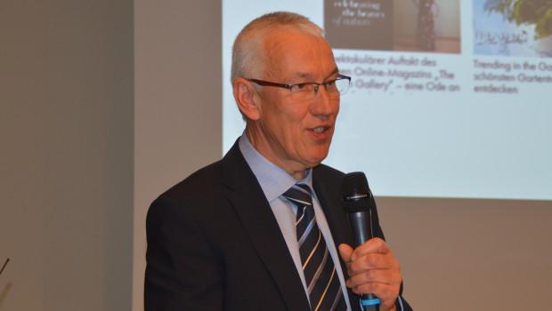 """VDG-Geschäftsführer Peter Botz wird auf der Wintertagung 2017 den Vortragsteil """"Kernkompetenz Pflanze"""" moderieren."""
