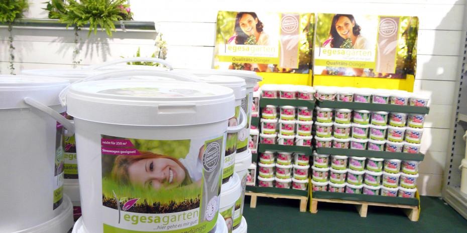 NBB Egesa Gartencenter, Eigenmarkenprogramm