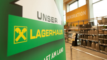 Lagerhaus-Märkte in Österreich haben um 9 Prozent zugelegt