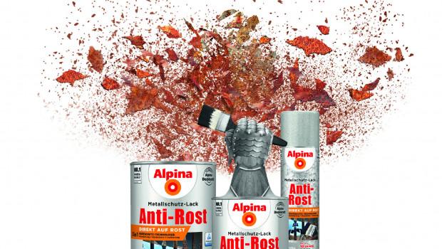 Alpina Farben, Anti-Rost Metallschutz-Lack
