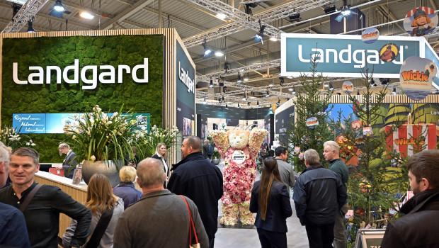 """Die Erzeugergenossenschaft Landgard - hier ein Bild vom Messeauftritt auf der IPM 2020 - wehrt sich gegen ihrer Meinung nach einseitige Berichterstattung durch das Nachrichtenmagazin """"Spiegel""""."""