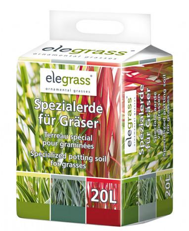 Floragard, Elegrass-Ziergräser, Spezialerde, Erde