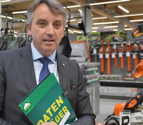 Thomas Marx ist als Bereichsleiter Bau & Gratenmarkt/Baustoffe bei der RWA auch AFS-Geschäftsführer.
