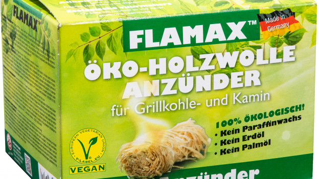 Carl Warrlich GmbH,  FLAMAX Vegane Zündwolle