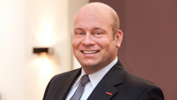 Gardinia Prokurist Sven Heidemann freut sich über eine gelungene Hausmesse.
