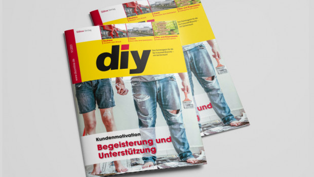 Wie begeistert man Kunden? Das Titelthema von diy 9/2021 beschäftigt sich mit diesem grundlegenden Thema.