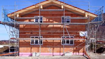 Mehr Genehmigungen bei den Einfamilienhäusern