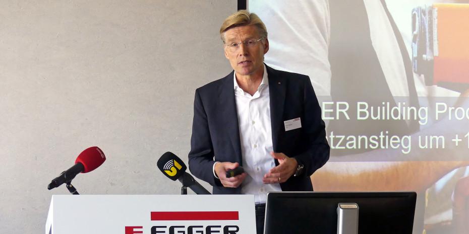 Egger, Jahrespressekonferenz, Ulrich Bühler