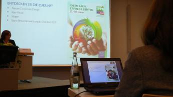 Grüne Messe erhält neuen Auftritt und sponsort Marktforschung