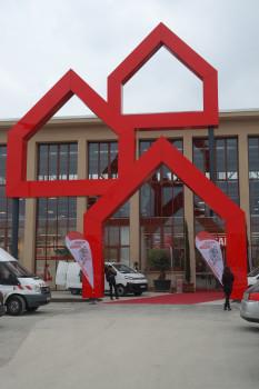 Riesig und spannend: Bilder vom neuesten Bauhaus-Standort in München.