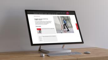 Hymer-Leichtmetallbau mit neuer Website