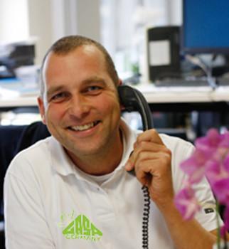 Michael Blank ist zuständig für Logistik und Vermarktung der mediterranen Pflanzen.