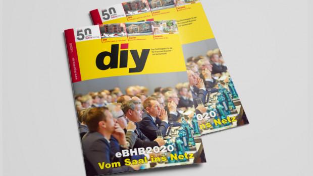 Die November-Ausgabe des Fachmagazins diy ist jetzt herausgekommen.