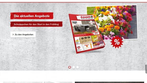 Toom bietet seit dem 27. März 2019 seinen Kunden auch einen eigenen Online-Shop an.