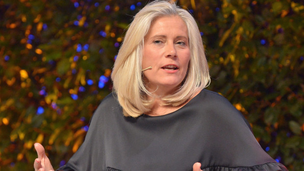 Véronique Laury, hier bei der Podiumsdiskussion auf dem Global DIY Summit 2018 in Barcelona, wird Kingfisher verlassen.