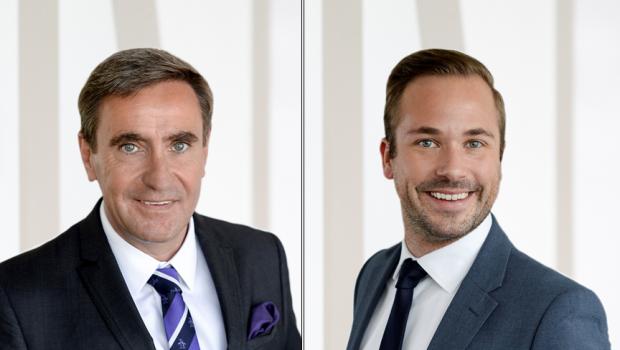 Stephan Kurzawski (l.) und Philipp Ferger von der Messe Frankfurt haben einen offenen Brief an die Konsumgüterbranche veröffentlicht.