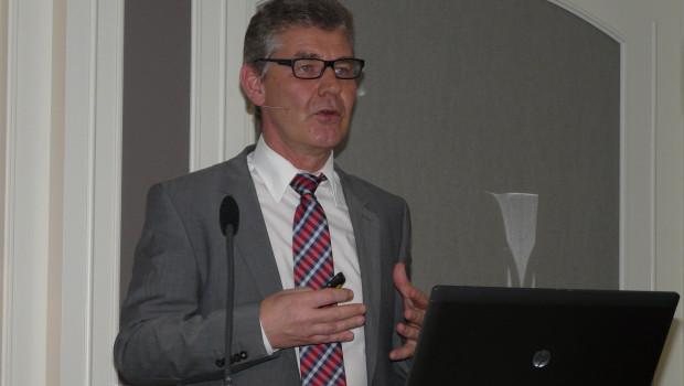 """""""Unsere Priorität liegt weiterhin im stationären Geschäft"""": Sagaflor-Vorstandssprecher Franz-Joserf Isensee auf dem IVG-Forum."""
