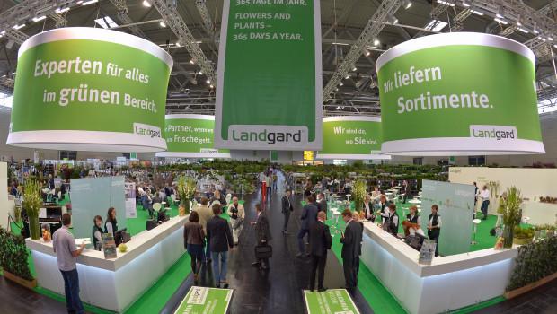 Die Landgard - das Foto entstand beim Messeauftritt des Pflanzenvermarkters auf der Spoga+Gafa im vergangenen Jahr - hat zuletzt leicht an Umsatz verloren.