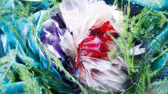 Diese Textilblume entwarf Julie Bakker von der ArtEZ School of the Arts.