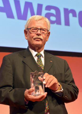 Helmut Aurenz ist der zehnte Preisträger des DIY-Lifetime-Award.