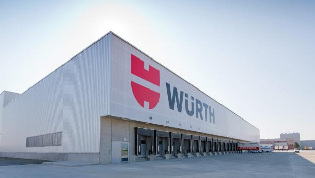 Vertriebszentrum von Würth.
