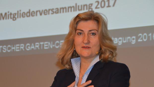 """""""Gespräch von Mensch zu Mensch entscheidend"""": VDG-Vorsitzende Martina Mensing-Meckelburg auf der Wintertagung des Verbands in Aachen."""