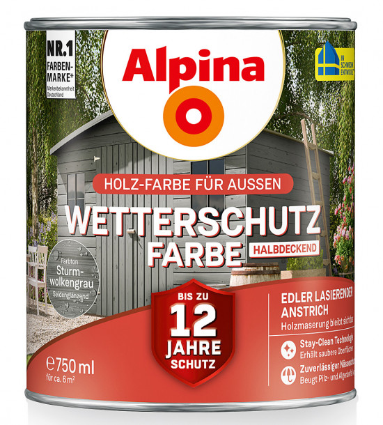 Alpina, Wetterschutzfarbe