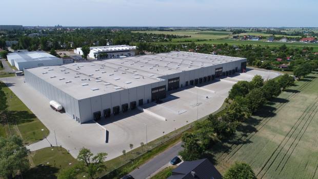 Blick auf die zukünftige Produktionsstätte in Gniezno.