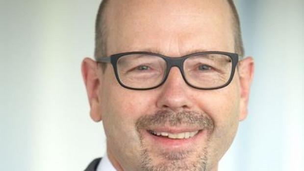 Michael Thürmer, Bereichsleiter Holz und Bauelemente  der Eurobaustoff, freut sich über ein überdurchschnittliches Plus des Einkaufsvolumens.