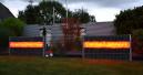 LED-Beleuchtung für Gabionen