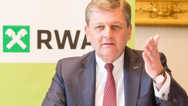 RWA-Generaldirektor Reinhard Wolf präsentierte die Zahlen 2016 auf der Jahrespressekonferenz.