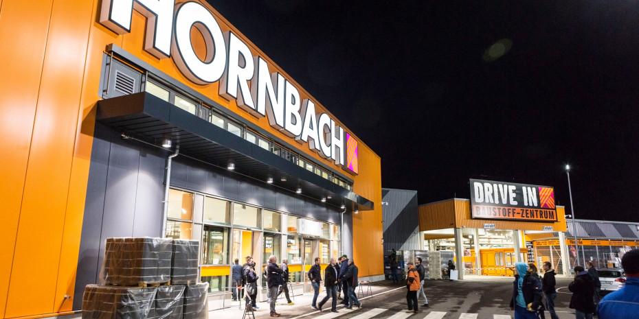 Hornbach-Markt, Halle