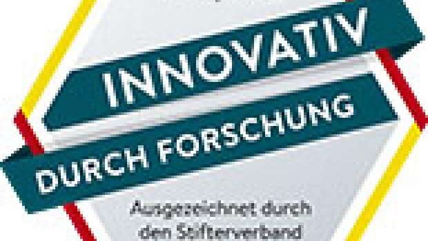 """Das Siegel """"Innovativ durch Forschung"""" des Stifterverbands geht ein weiteres Mal an Wenko."""