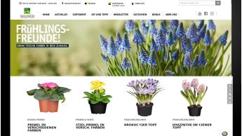 Sagaflor bietet Gartenpartnern Shop-Tool für ihre Websites