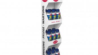 Ideale Displays: Hanging Racks von Caramba
